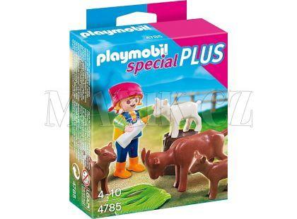 Playmobil 4785 Holčička s kůzlátky