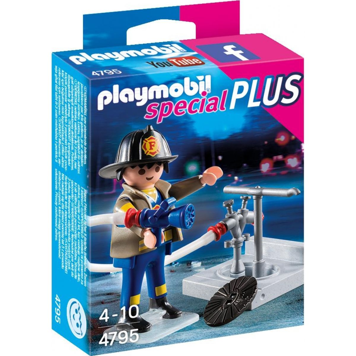 Playmobil 4795 Hasič s hydrantem