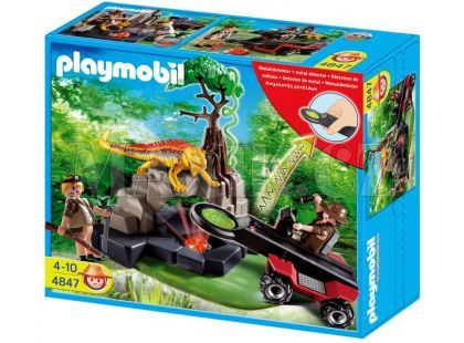 Playmobil 4847 Lovec pokladů s detektorem kovů