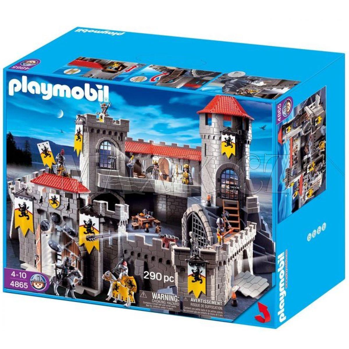 playmobil 4865 hrad ryt ern ho lva max kovy hra ky