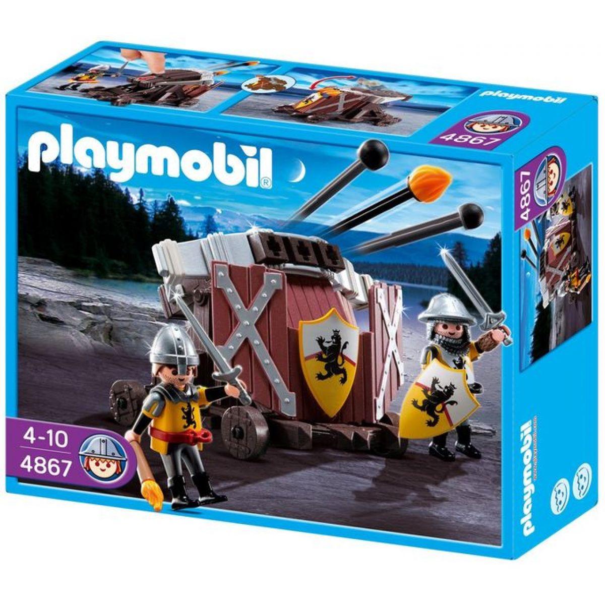 Playmobil 4867 Balista rytířů Černého lva