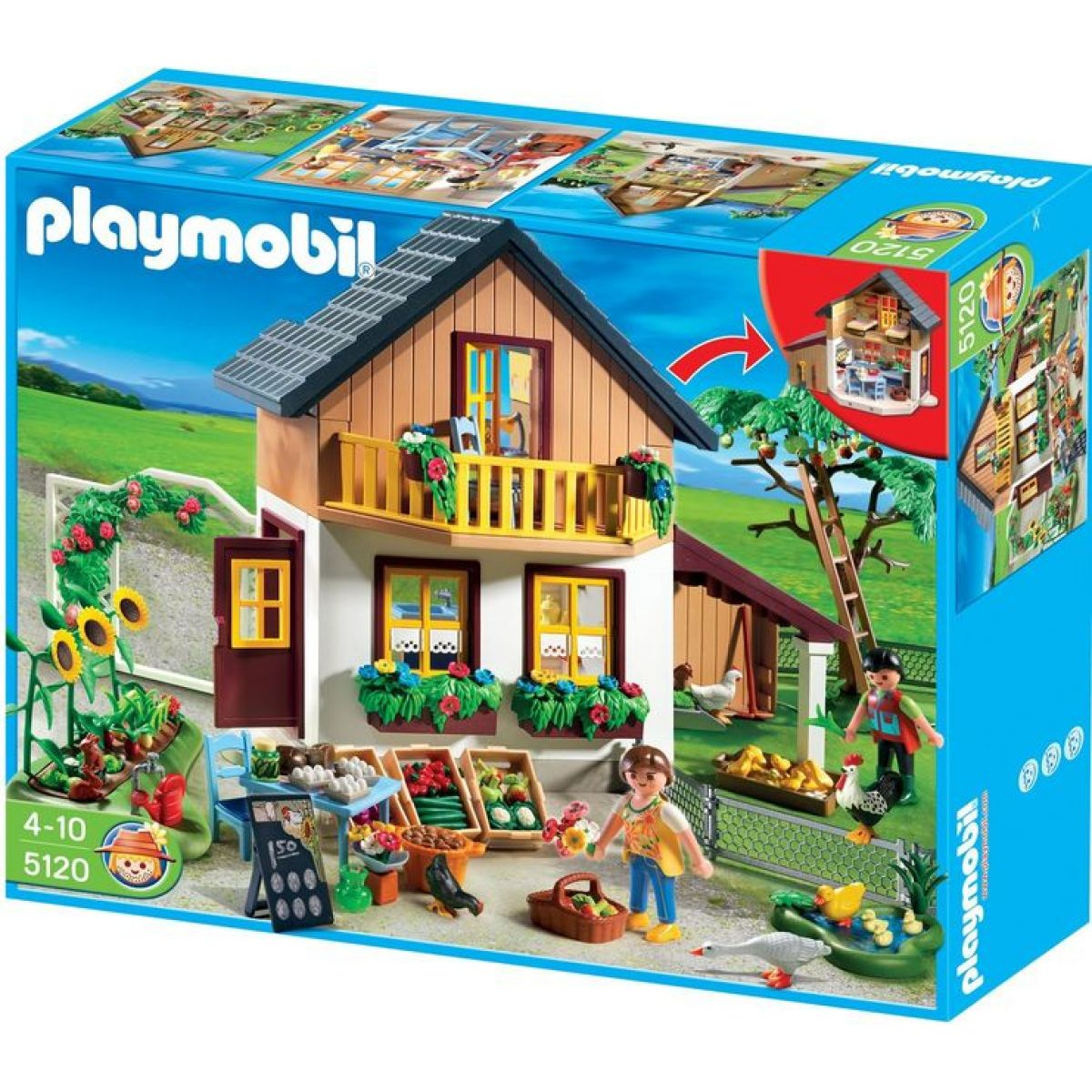 Playmobil 5120 Farma s vlastní prodejnou