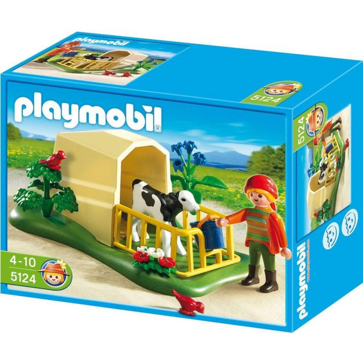 Playmobil 5124 Telátka ve výběhu - Poškozený obal