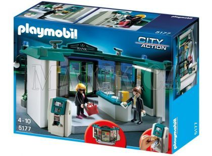 Playmobil 5177 Banka s trezorem