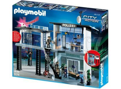 Playmobil 5182 Policejní stanice s alarmem