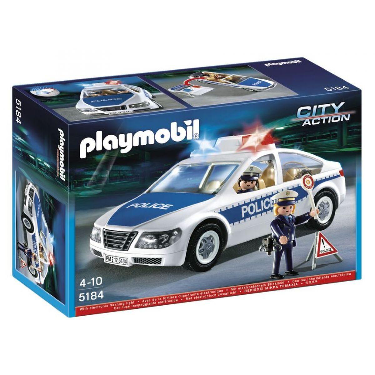 Playmobil 5184 Dálniční hlídka s majáky