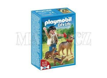 Playmobil 5211 Německý ovčák se štěňaty