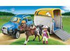 Playmobil 5223 Terénní auto s přívěsem 2