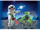 Playmobil 5241 Duo Pack Astronaut a špionážní robot 2