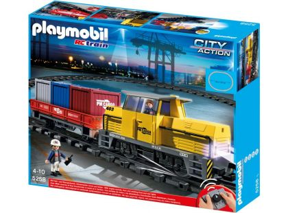 Playmobil 5258 RC Nákladní vlak