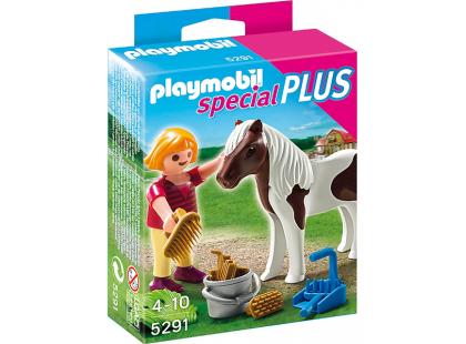 Playmobil 5291 Holčička s poníkem