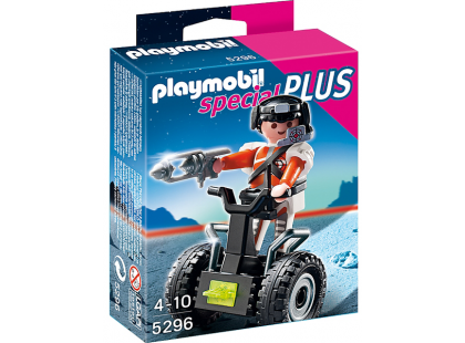 Playmobil 5296 Top Agent a Segway