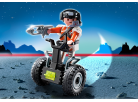 Playmobil 5296 Top Agent a Segway 2