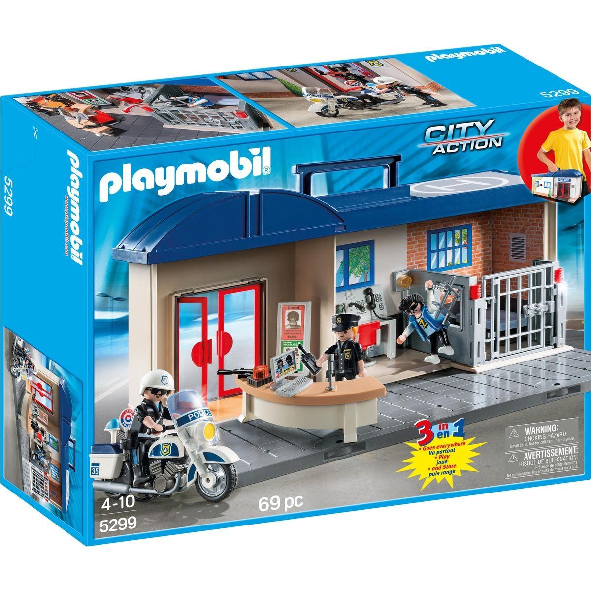 Playmobil 5299 Přenosná policejní stanice