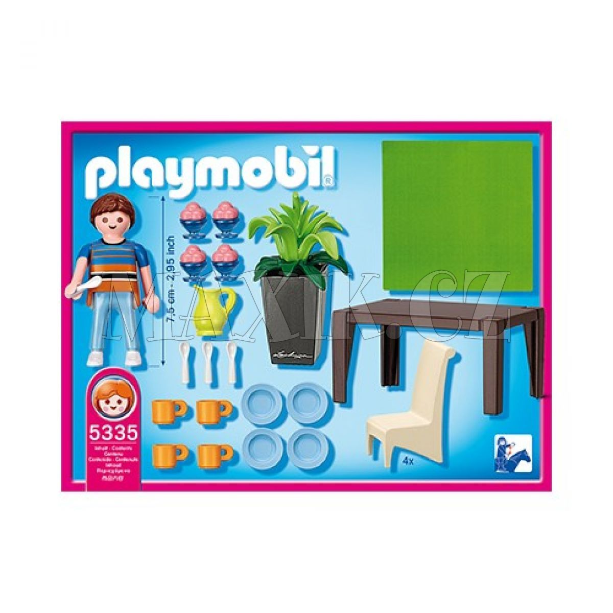 Playmobil 5335 j delna max kovy hra ky for Playmobil schickes esszimmer 5335