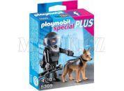 Playmobil 5369 Policejní těžkooděnec se psem