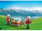 Playmobil 5430 Horská služba a zraněná turistka 3