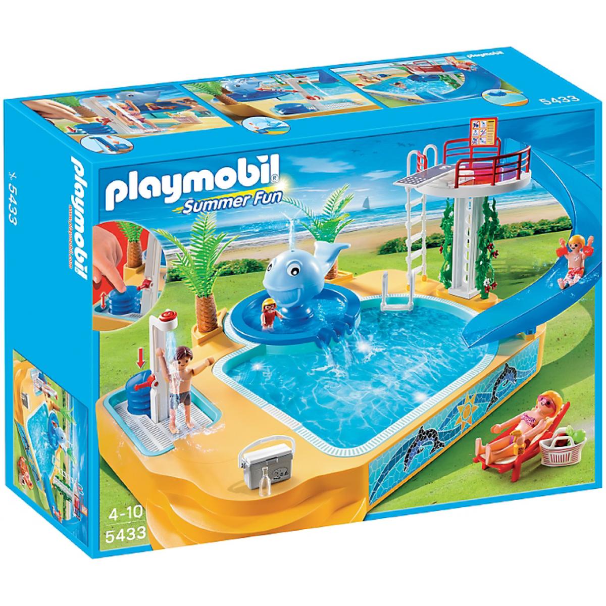 Playmobil 5433 Dětské koupaliště s fontánou