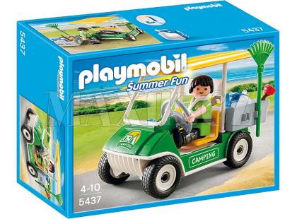 Playmobil 5437 Auto zaměstnance kempu