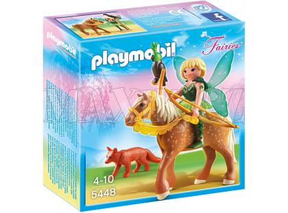 Playmobil 5448 Lesní víla Diana na koni