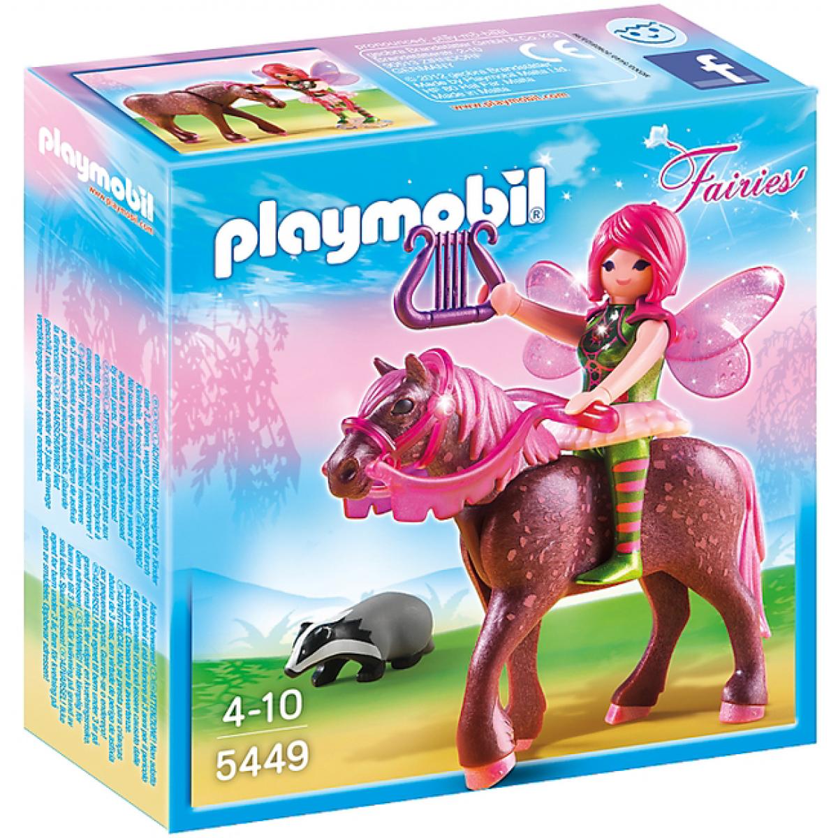 Playmobil 5449 Lesní víla Surya na koni