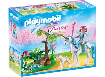Playmobil 5450 Víla Aquarella na louce Jednorožců