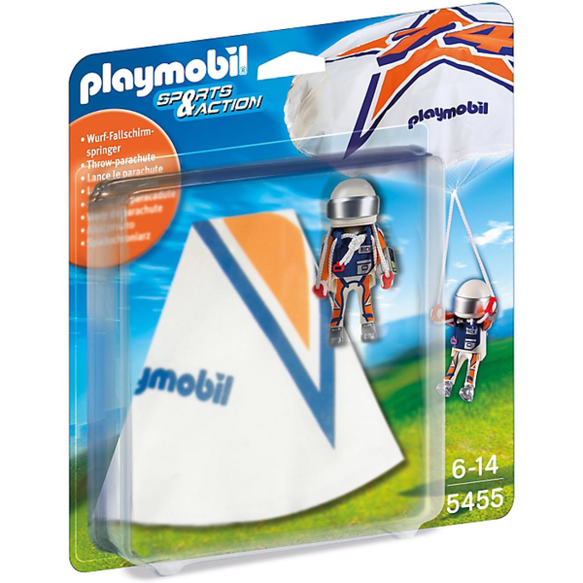 Playmobil 5455 Parašutista Rick