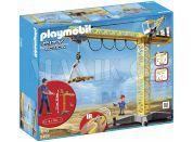 Playmobil 5466 Velký jeřáb na IR ovládání