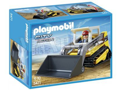Playmobil 5471 Pásový buldozer