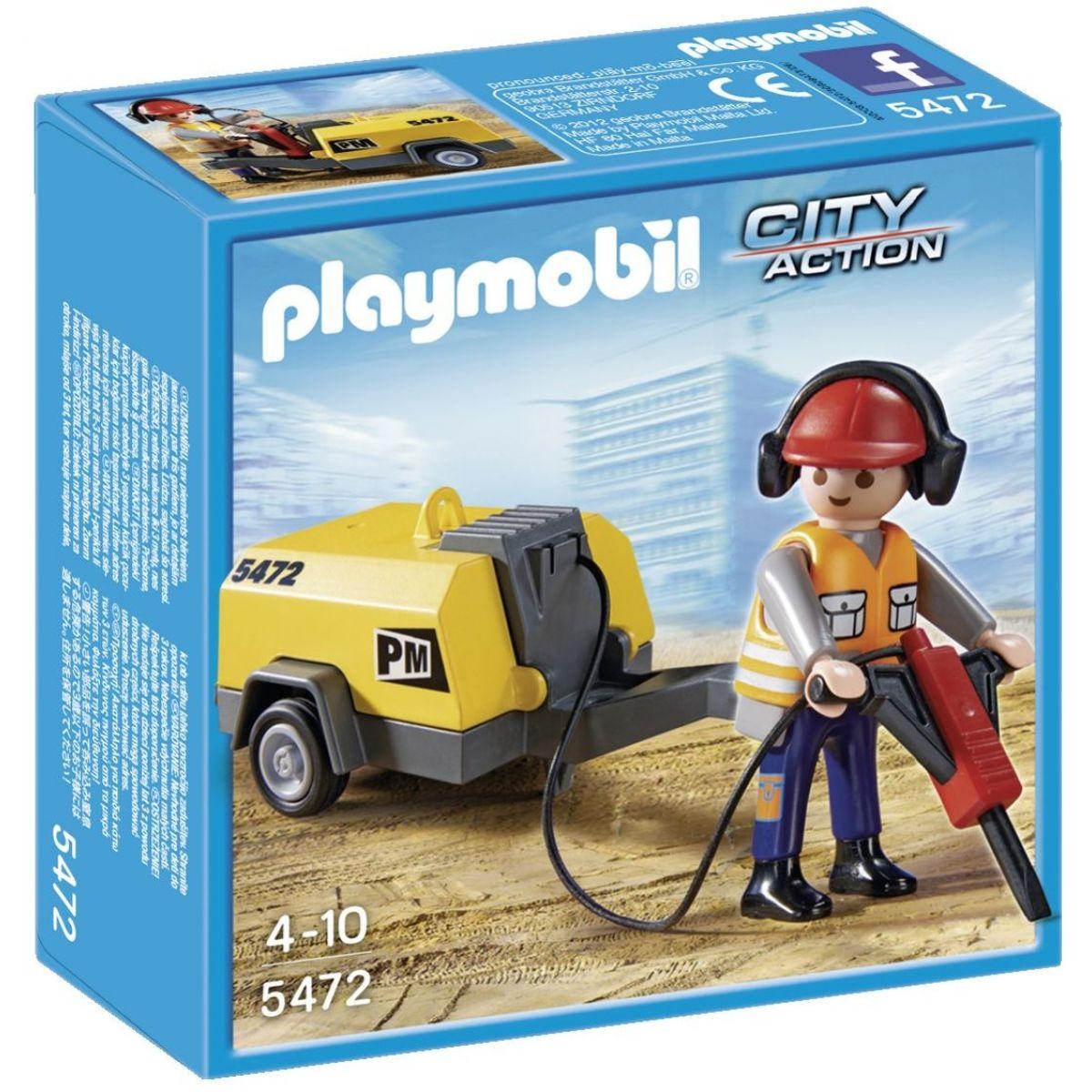 Playmobil 5472 Dělník se sbíječkou