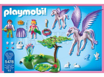 Playmobil 5478 Královské děti s Pegasem