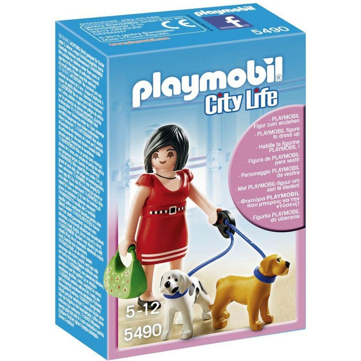 Playmobil 5490 Zákaznice s pejsky