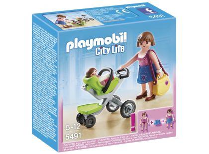 Playmobil 5491 Maminka na nákupu