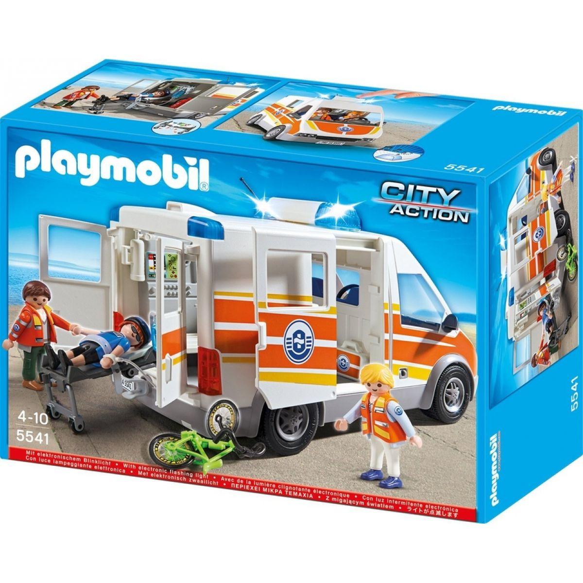 PLAYMOBIL 5541 Ambulance s majáky