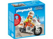 Playmobil 5544 Lékař na motorce