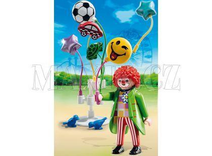 Playmobil 5546 Klaun s balónky Smileyworld