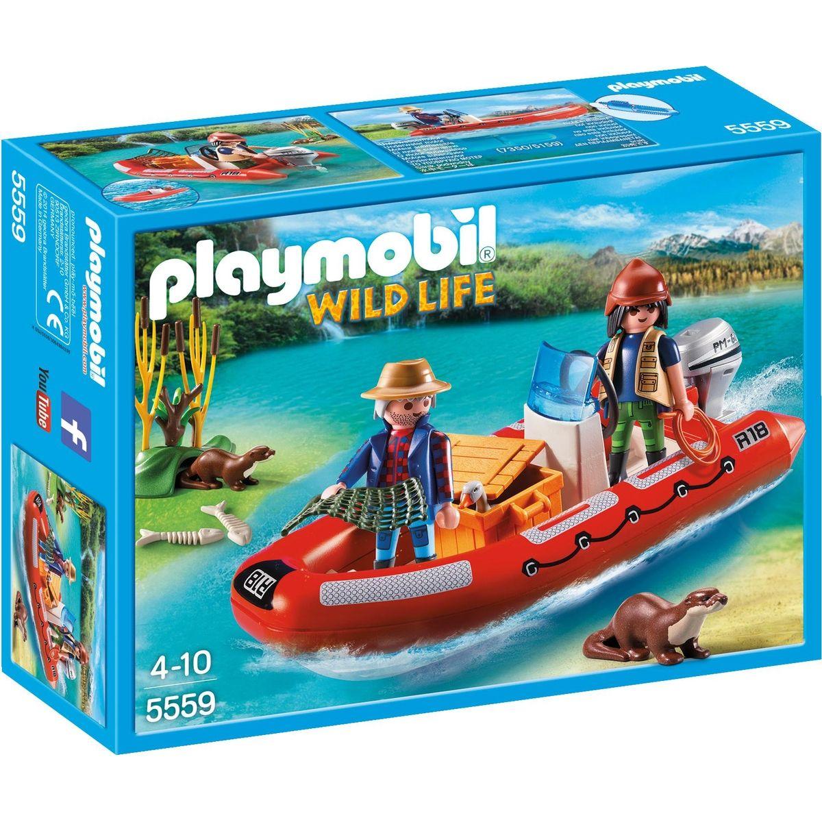 Playmobil 5559 Nafukovací člun s pytláky