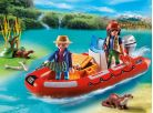 Playmobil 5559 Nafukovací člun s pytláky 2