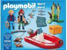 Playmobil 5559 Nafukovací člun s pytláky 3