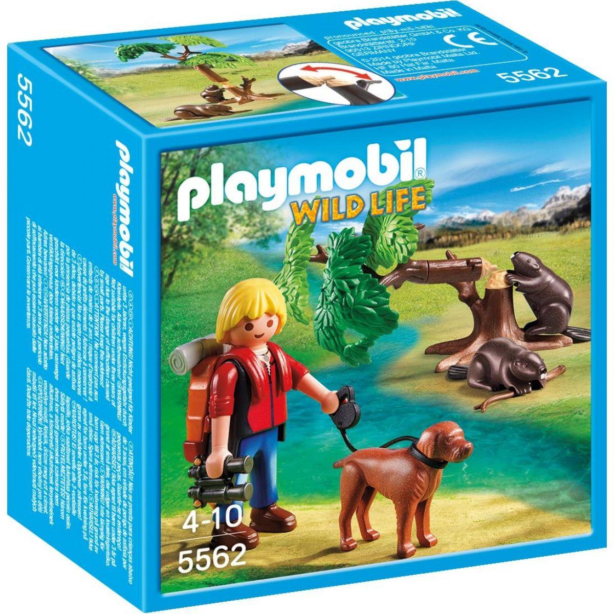 Playmobil 5562 Přírodovědec s bobry