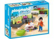 Playmobil 5584 Moderní obývací pokoj