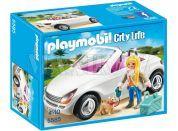 Playmobil 5585 Kabriolet s blondýnou