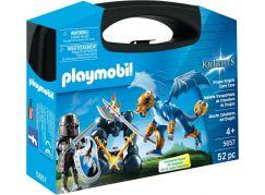 Playmobil 5657 Přenosný box - Dračí rytíř s drakem