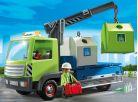 Playmobil 6109 Nákladní vůz s kontejnery na sklo 2