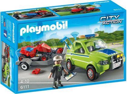 Playmobil 6111 Zahradnický vůz se sekačkou
