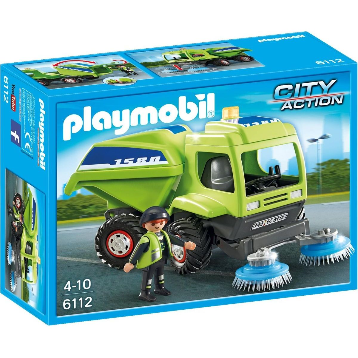 Playmobil 6112 Městský čisticí vůz