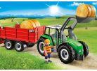 Playmobil 6130 Velký traktor s přívěsem 2