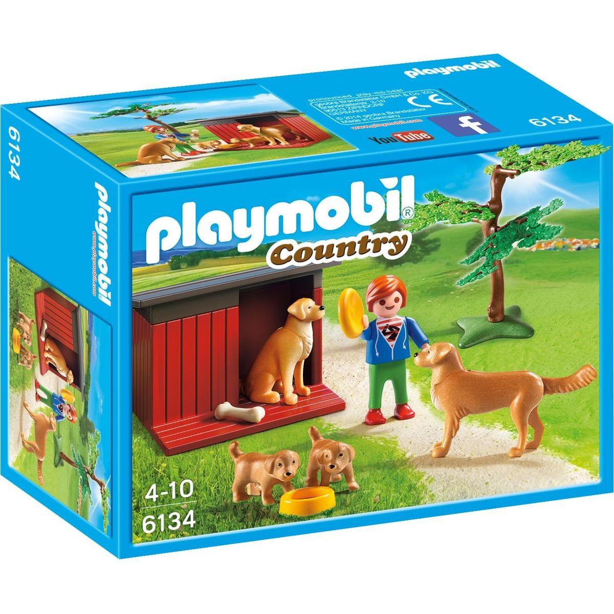 Playmobil 6134 Zlatý retriever se štěňaty