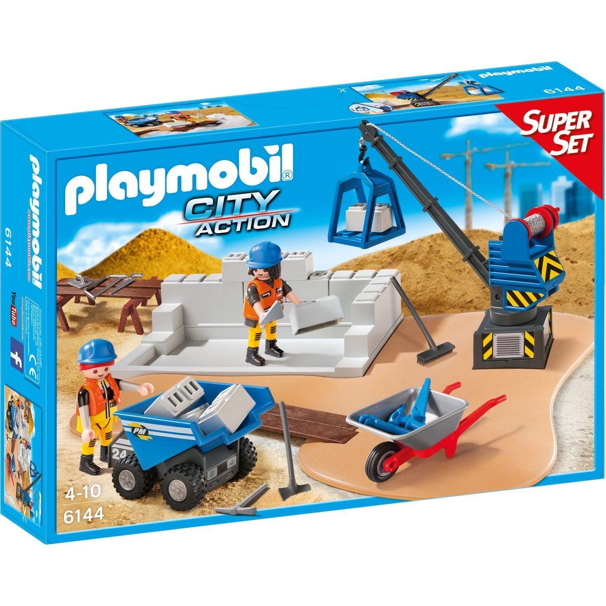 Playmobil 6144 Super Set Stavba