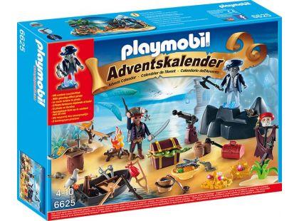 Playmobil 6625 Adventní kalendář - Tajemný pirátský ostrov pokladů